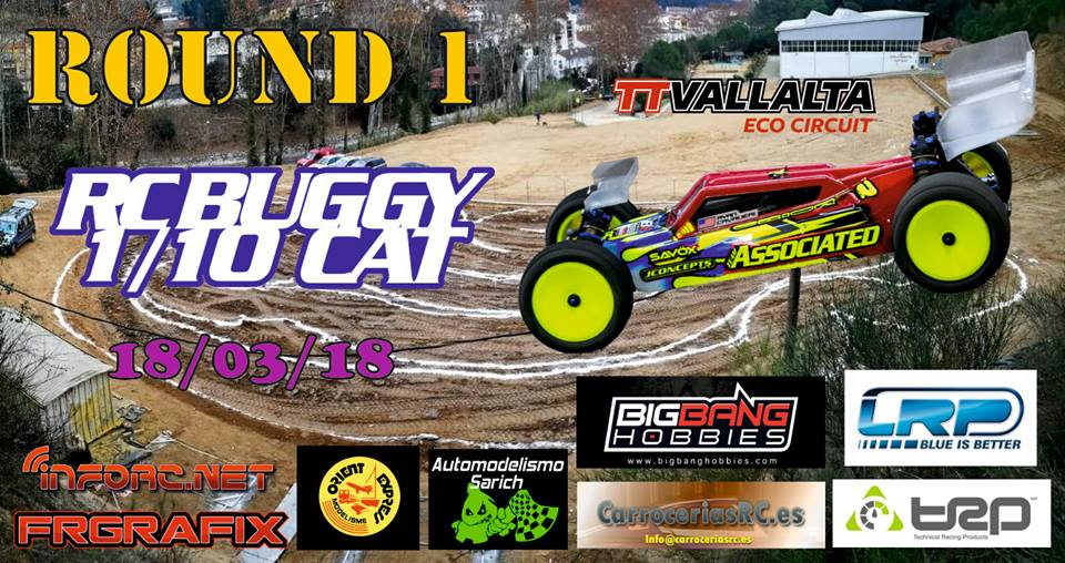 rc buggy 1/10 CAT round 1